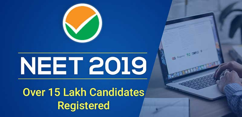 NEET 2019: Over 15 Lakh Candidates Registered