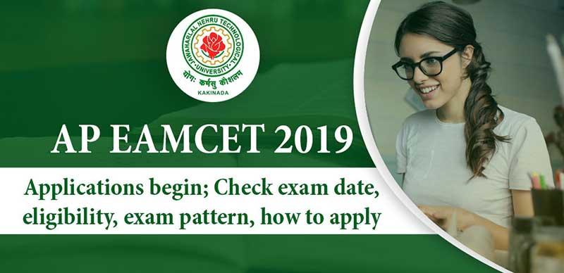 AP EAMCET 2019: Applications begin