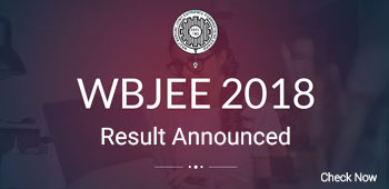 WBJEE 2018 Result - Announced