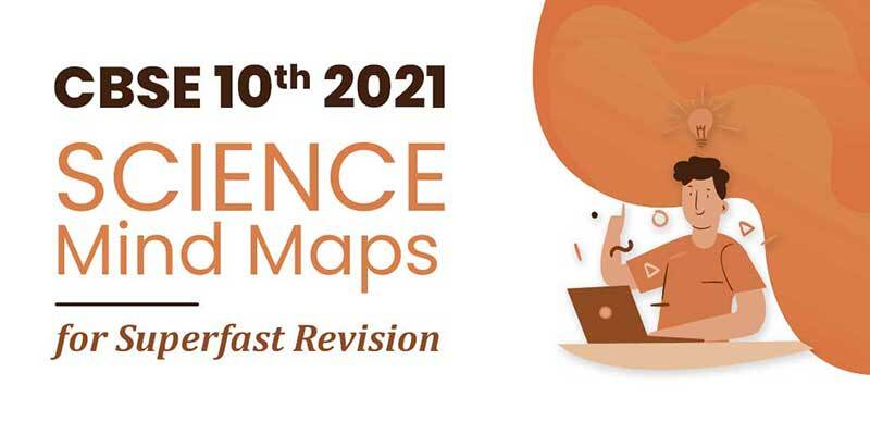 CBSE 10th 2021 : SCIENCE Mind Maps for Superfast Revision