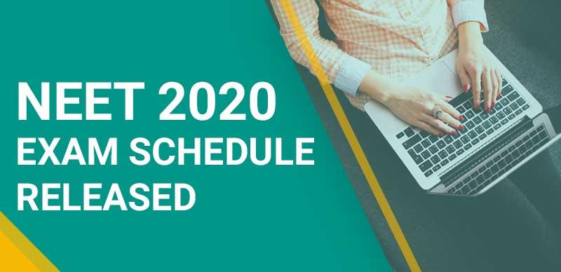 NEET 2020: Exam Schedule Released