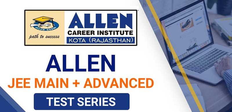 Allen JEE Main+Advanced: Test Series(Pdf)