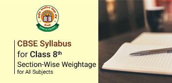 CBSE Class 8th Syllabus 2018