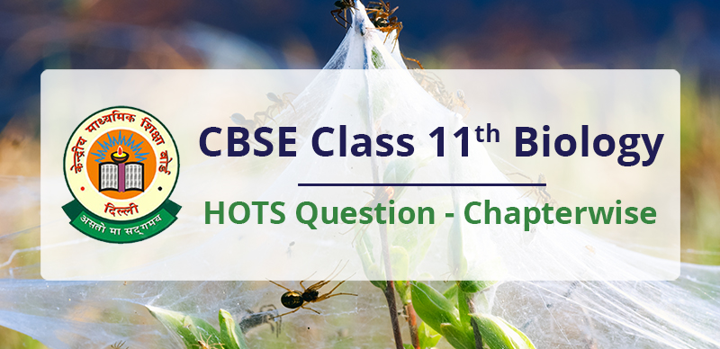 CBSE Class 11th Biology HOTS Question - Chapterwise
